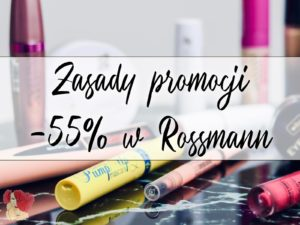promocja -55 w rossmann