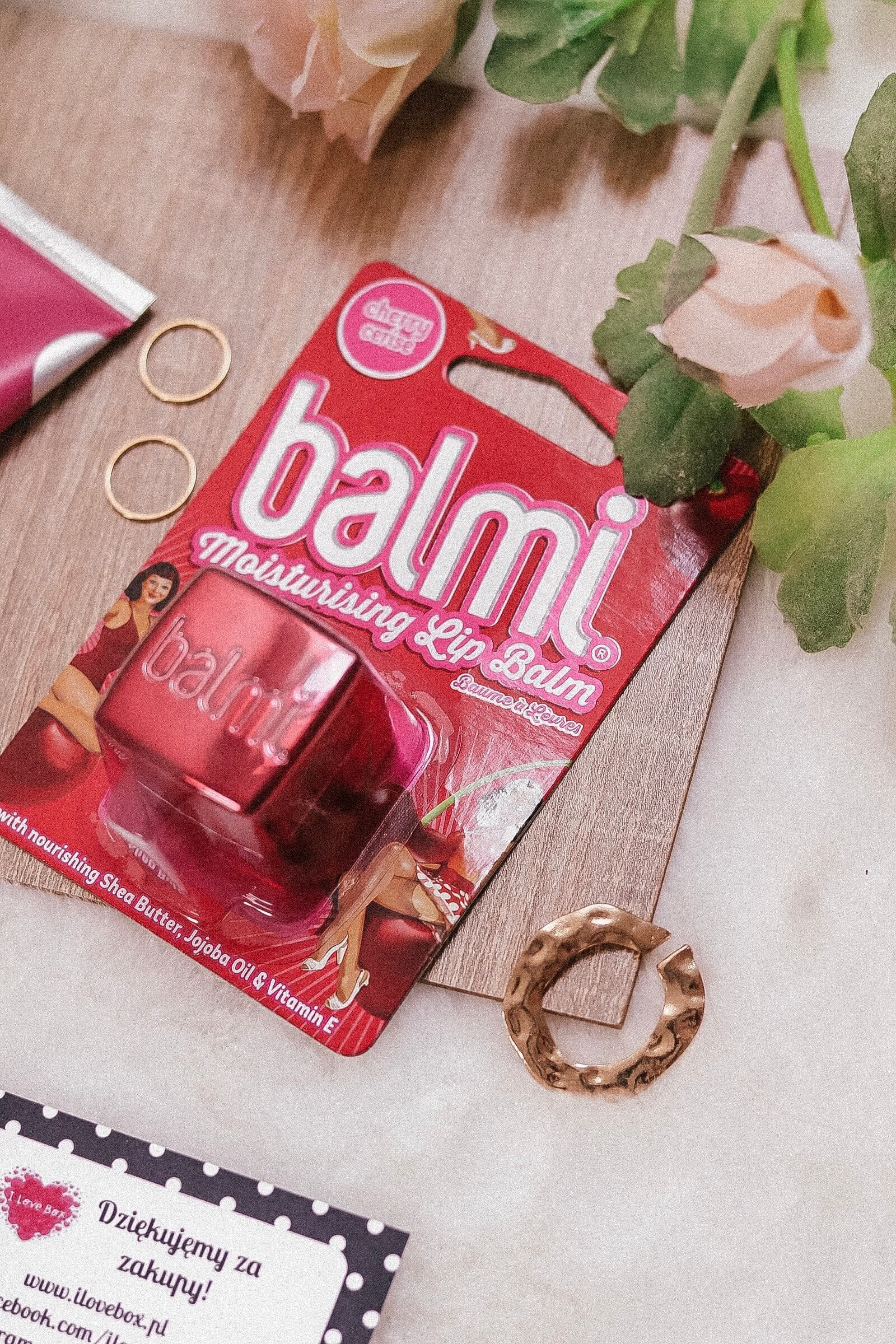 BALMI - I love box zawartość czerwiec 2019