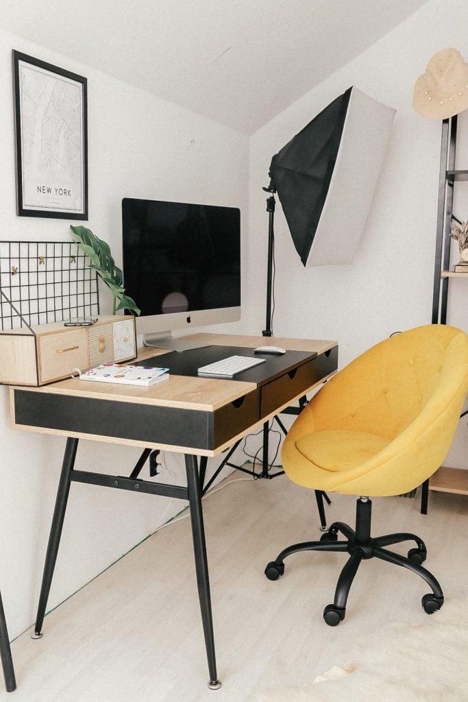 Najpiękniejsze biurko do biura w domu