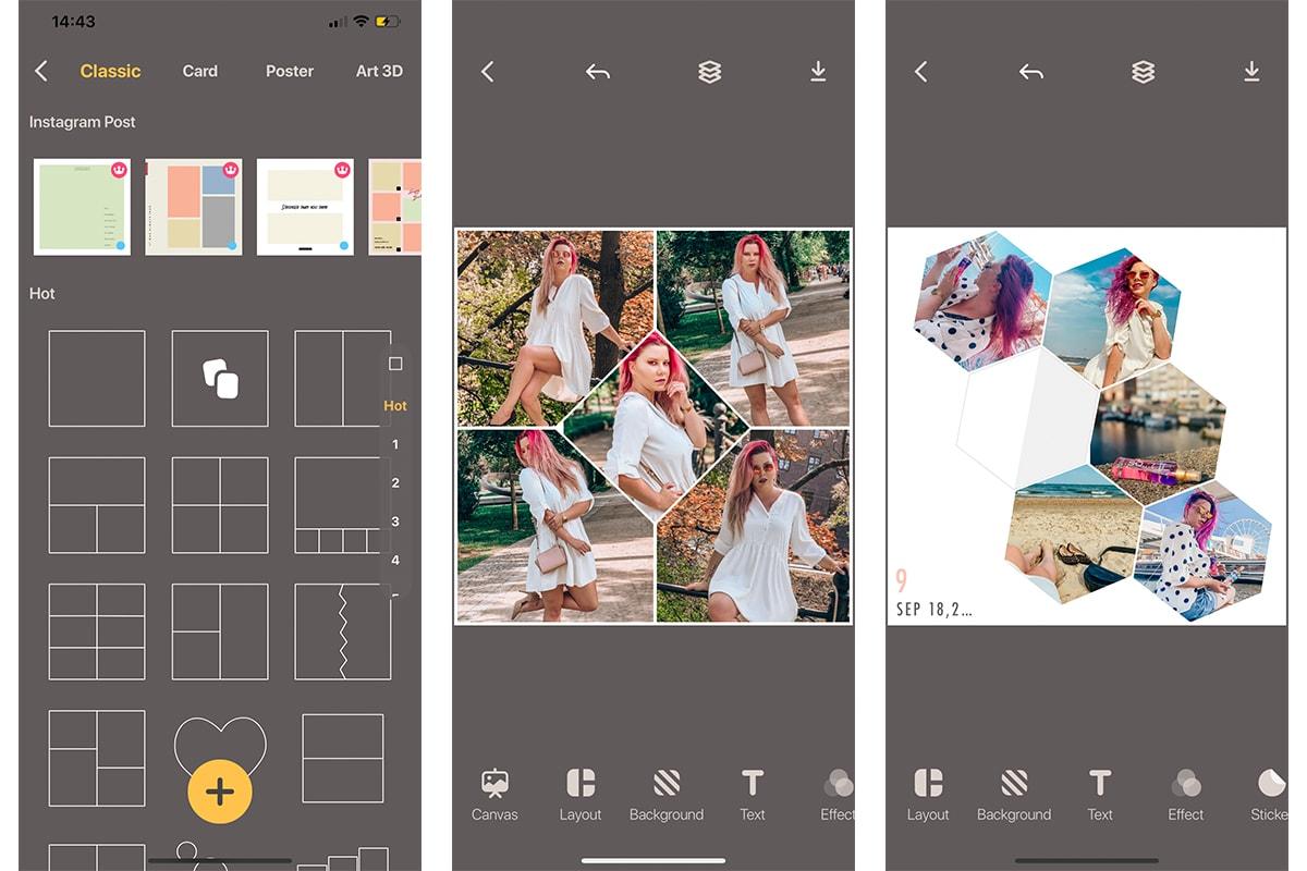 Aplikacje do edycji zdjęć na telefonie - Livecollage