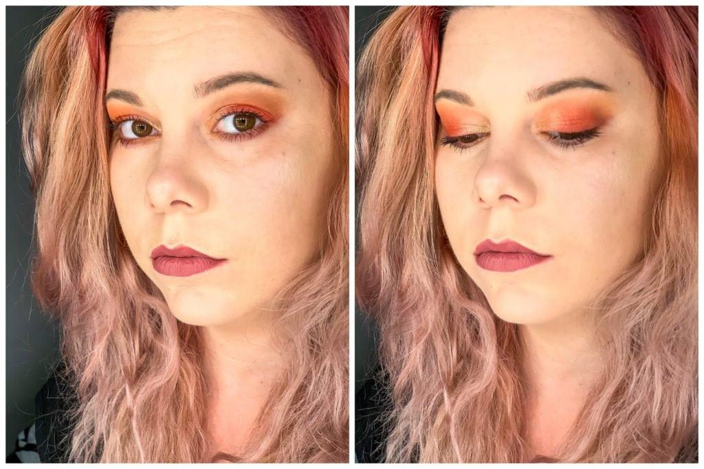 paleta drogeryjna makijaż eveline angel dream