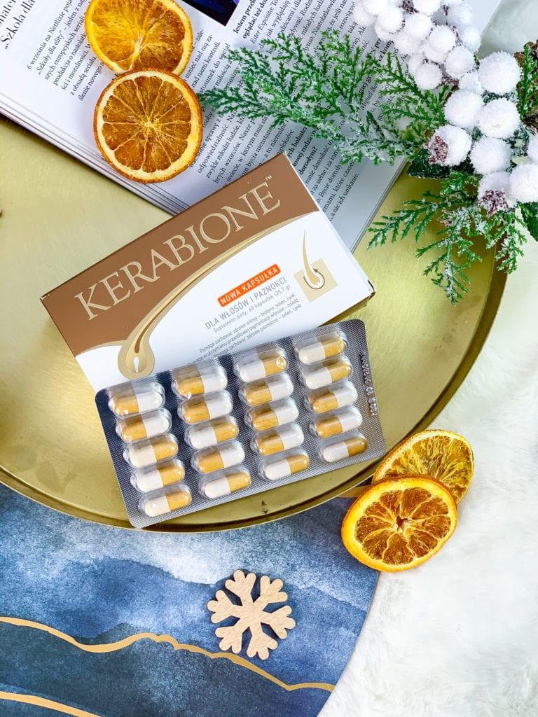 jak wzmocnić zniszczone paznokcie - suplement diety Kerabione