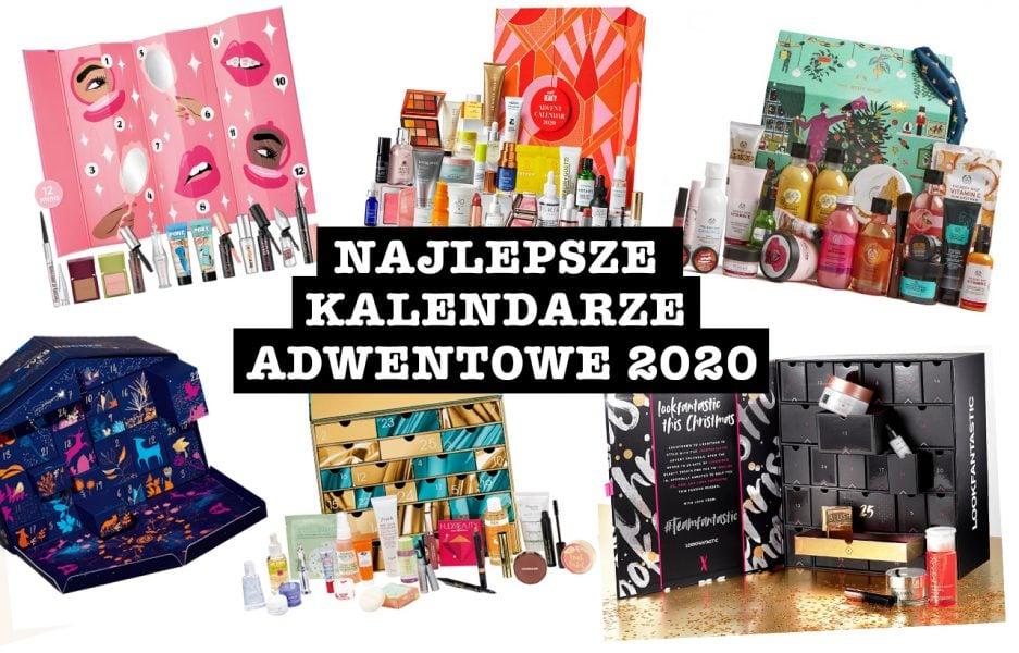 Najlepsze kalendarze adwentowe z kosmetykami 2020