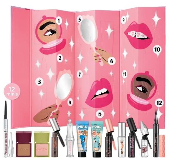 Najlepsze kalendarze adwentowe z kosmetykami 2020: benefit