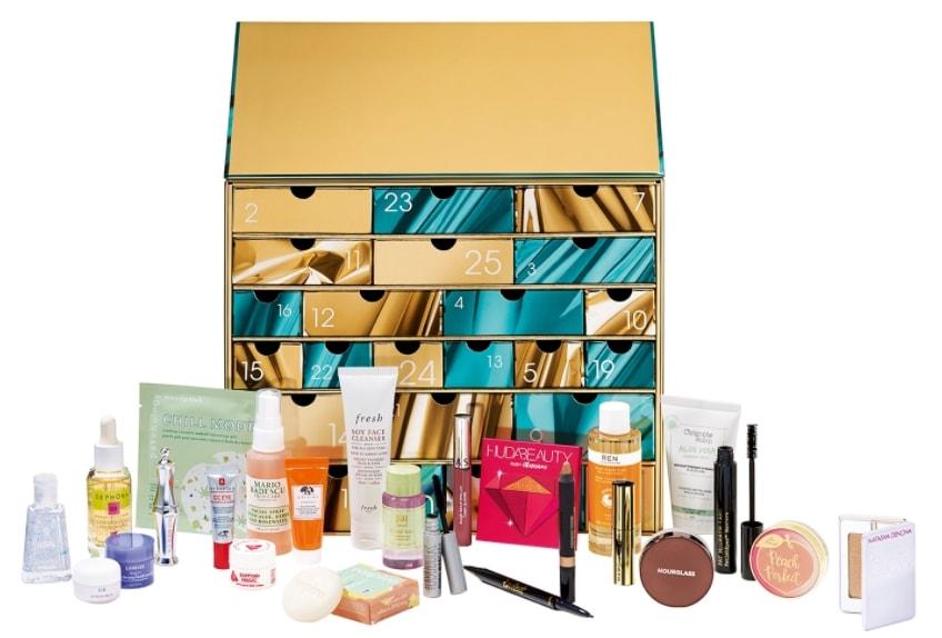 Najlepsze kalendarze adwentowe z kosmetykami 2020: sephora favorites