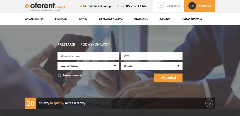 Gdzie szukać zleceń dla swoich usług? oferent.com.pl
